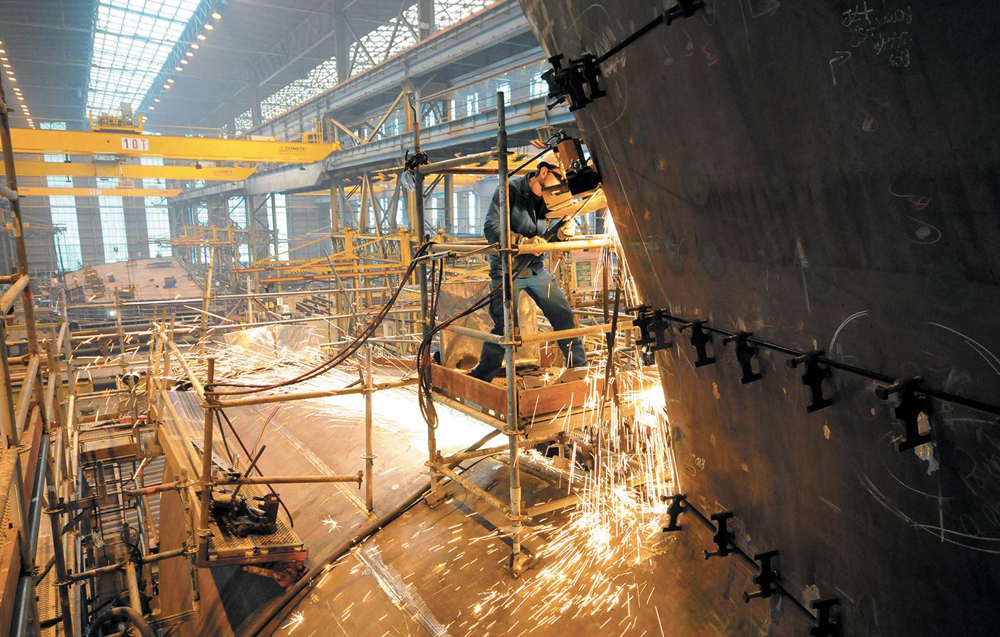 stx Saint-Nazaire paquebots chantiers de l'atlantique