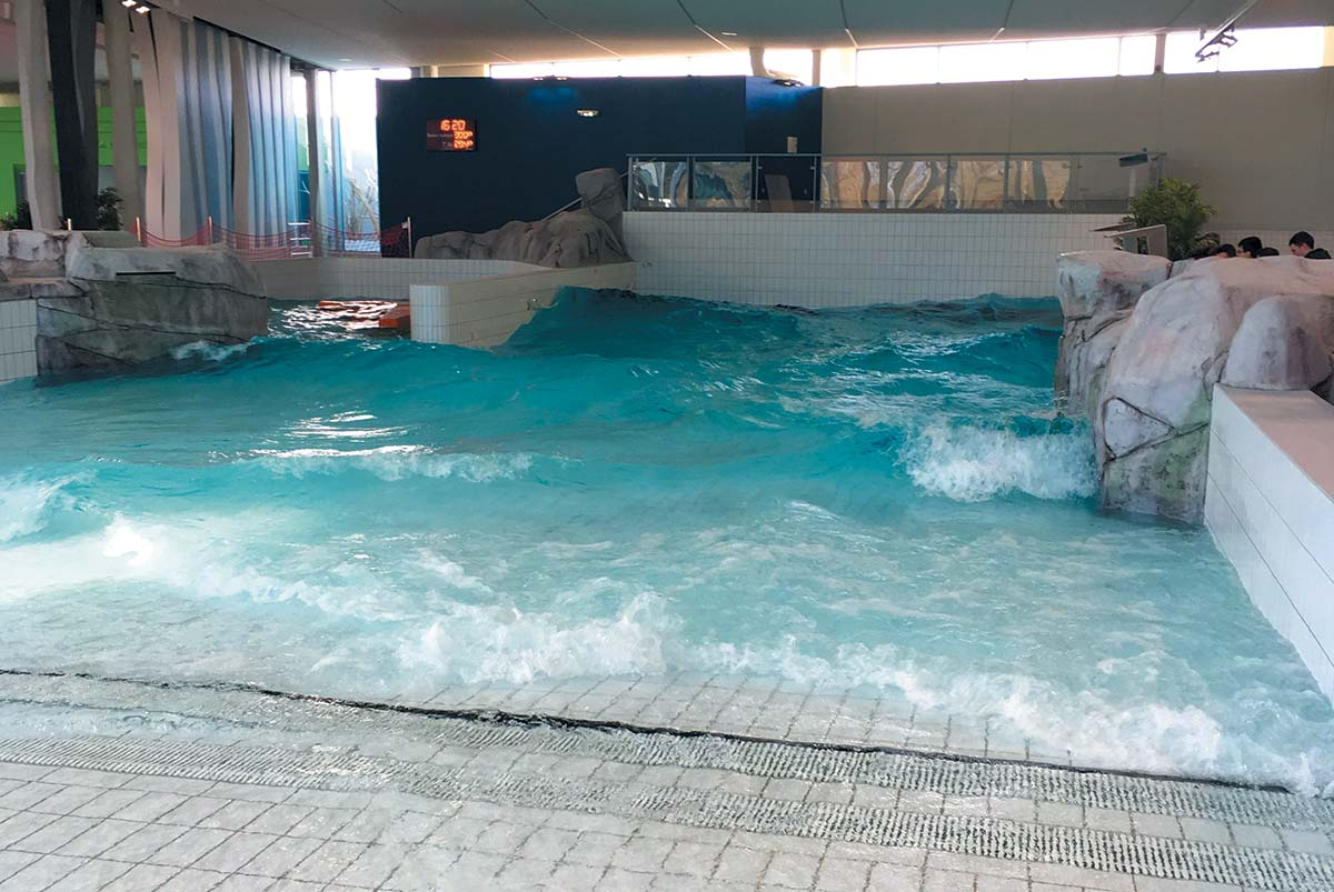 aquaparc saint-nazaire piscine a vagues
